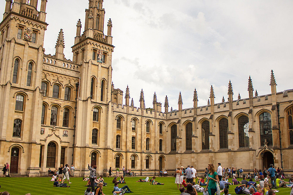 All Souls College in Oxford.