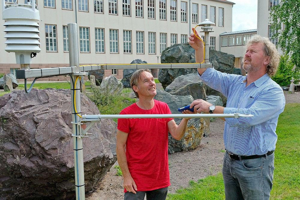 wetterstation garten, zehn jahre wetterstation am campus, Design ideen