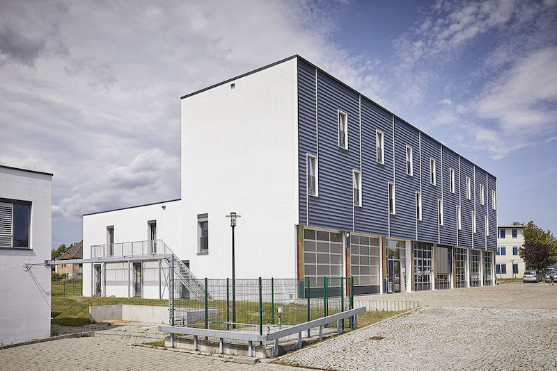 The BioCentre in Daniel-Vorländer-Strasse houses workshops and workspaces in an area comprising 1,400 square meters.