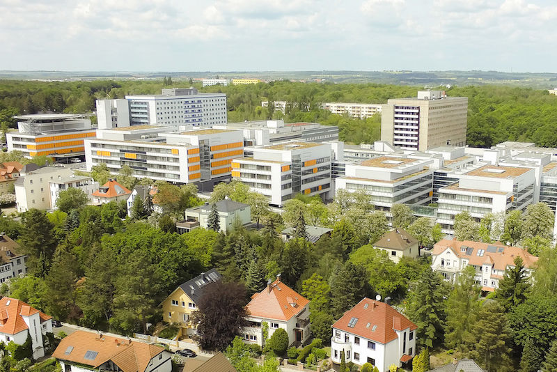 Halle's University Hospital is closely connected to the Faculty of Medicine at the University.